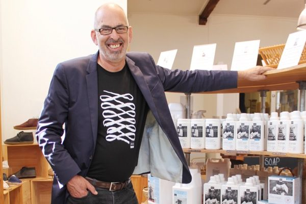 Malcolm Rands Founder ecostore in store