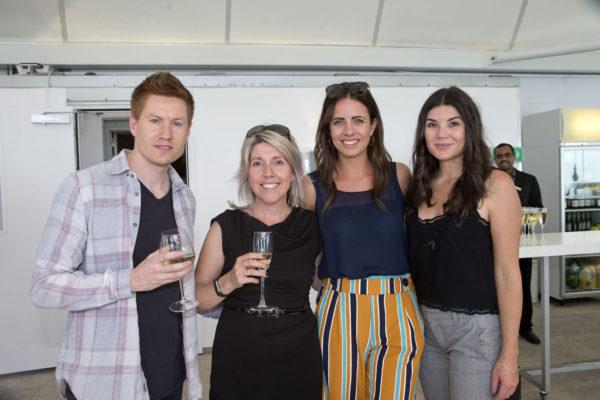 Client NZME Matt Davy, Bek Wall, Hayley Gillespie, Kate Cassidy