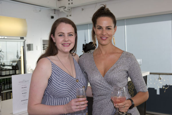 Kate Barron with Claire Robbie