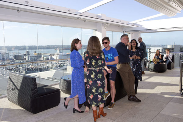 Stunning views from Rydges Rooftop Terrace