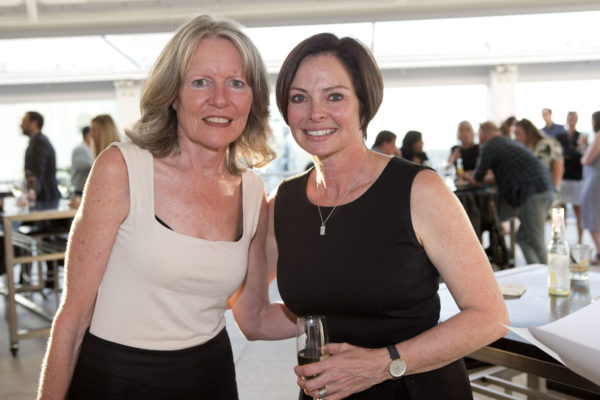 Morag McCay Chair of Artemis and Niki Schuck from NSPR